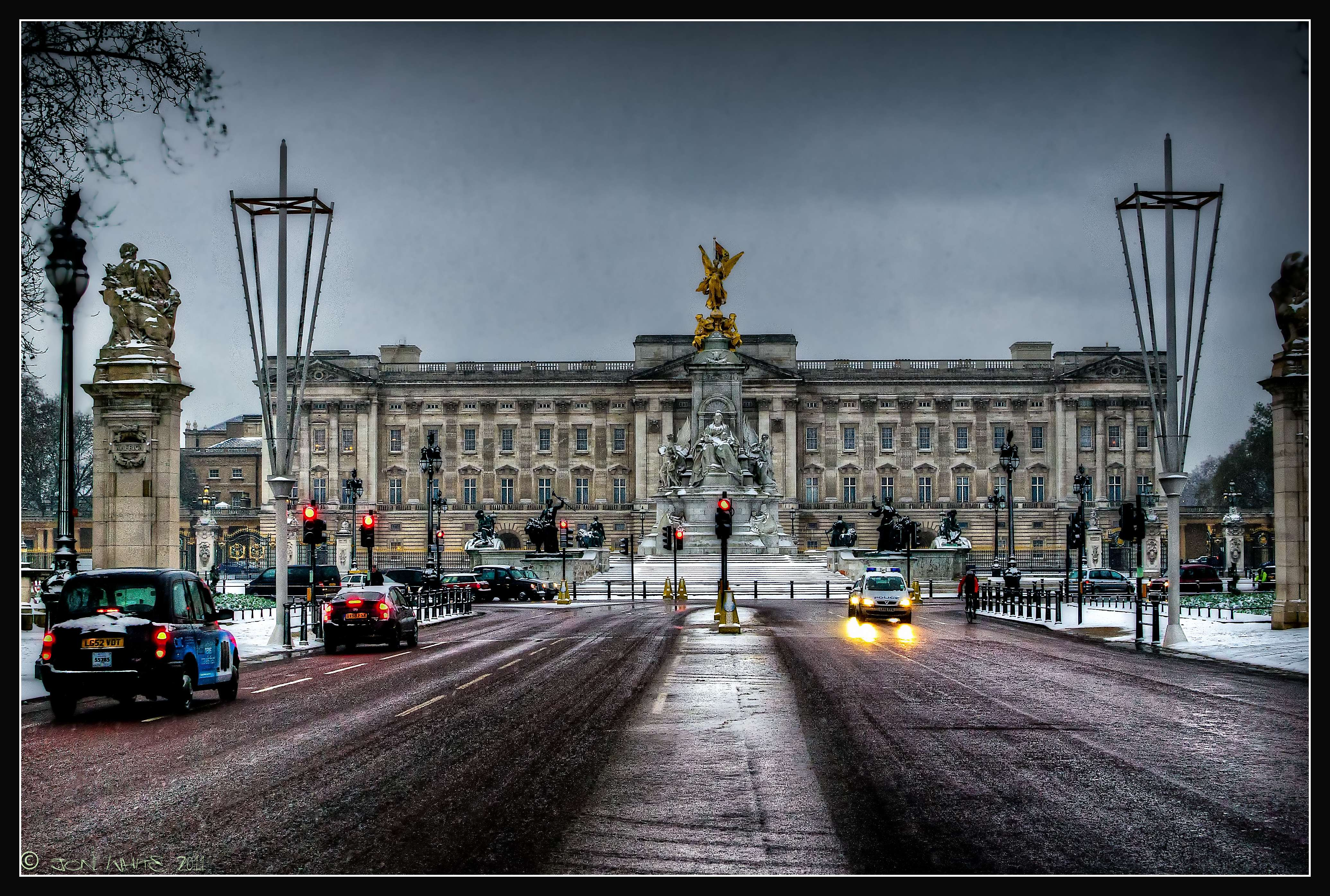 One of London attractions- Buckingham Palace