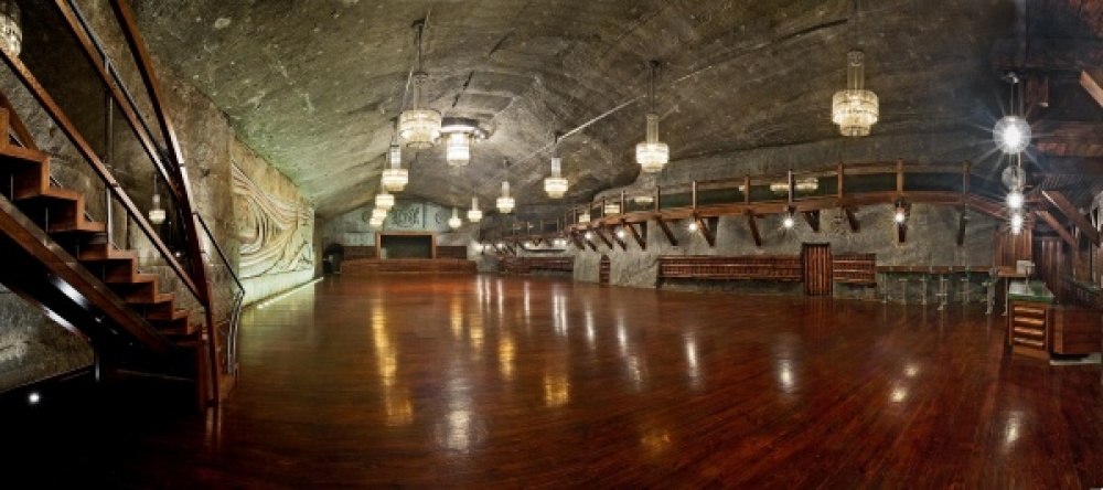 Ball Hall in Wieliczka Salt Mine